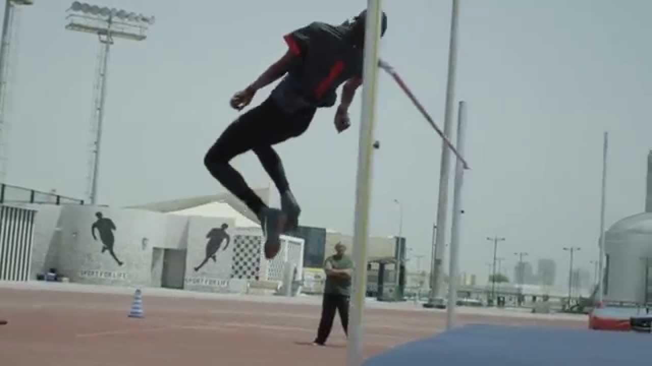 Mutaz Barshim, High Jumper from Qatar