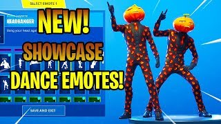 *NEW* JACK GOURDON SKIN SHOWCASE WITH DANCE EMOTES! Fortnite Battle Royale