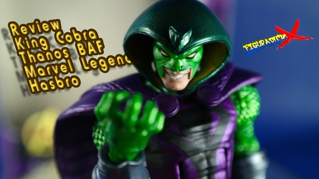 Review King Cobra Serpent Society Avengers Infinity War Marvel