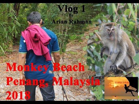 Monkey Beach, Penang, Malaysia, 2018 || Vlog - 1 By Arian Rahman