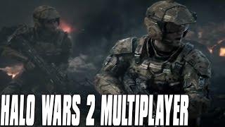 Halo Wars 2 Multiplayer 3vs2 - Infantry Firepower