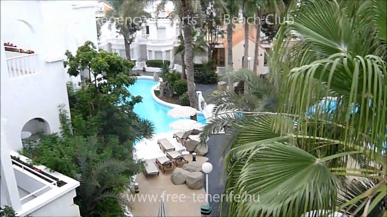 Regency Resorts Beach Club Tenerife www.free-tenerife.hu - YouTube
