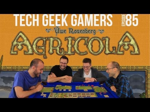 Let's Play Agricola - Board Game Play Through