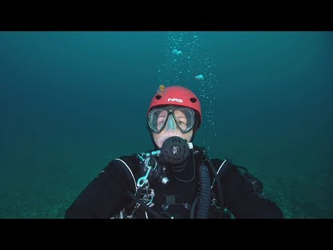 Diver swims St Lawrence River to showcase pollution