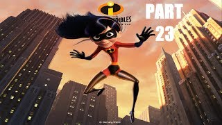 The Incredibles Video Game: Walkthrough Part 23 - Violet's Crossing - Mission 14