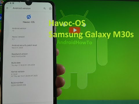 Havoc OS v3.3 for Samsung Galaxy M30s GSI ROM Android 10