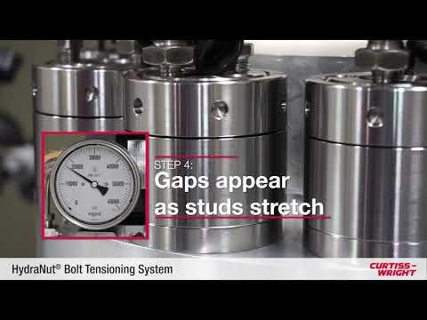 HydraNut® Bolt Tensioning System | Installation Demo