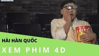 [Clip hài Hàn Quốc/ hangul-vietsub] Trải nghiệm phim 4D - Geostorm
