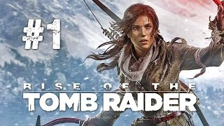 Rise of the Tomb Raider Gameplay #1 - Let's Play Tomb Raider 2015 German / Deutsch