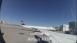 Lufthansa Airbus A319 | full flight | Munich to Prague [MUC to PRG] Full HD