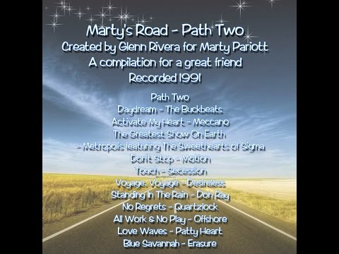 Marty's Road - Path Two -  Created by Glenn Rivera for Marty Pariott (1991)
