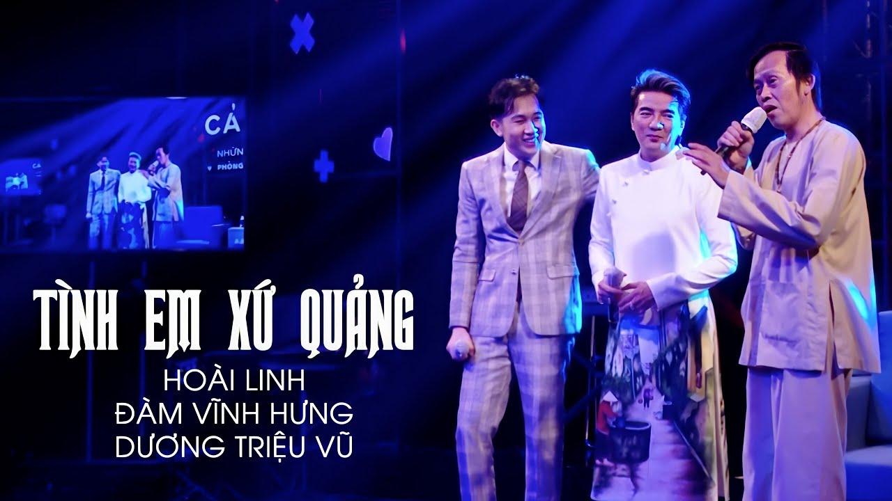 Hoài Linh, Đàm Vĩnh Hưng, Dương Triệu Vũ tái hợp gây quỹ hướng về Xứ Quảng   Tam Ca Quảng Nam