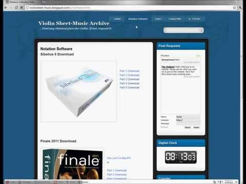 How To Download Free Sheet Music For Violin (PDF) - ViolinSheet-Music