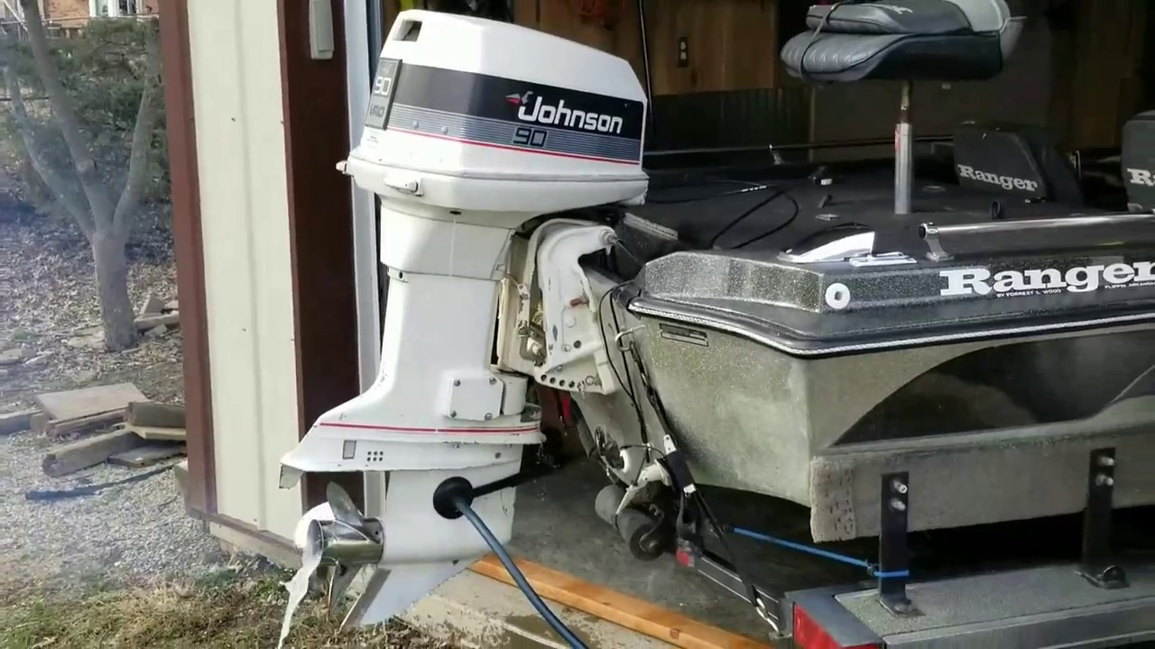 Johnson 90hp Outboard  1986