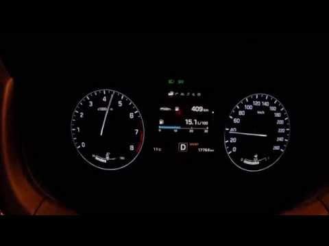 Hyundai Genesis 3.8 GDI V6 acceleration 0 130 0 km h