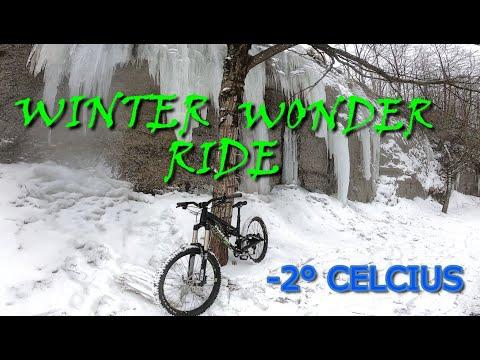 Winter Mountain Biking / Ledgeview Mountain Biking / Kona Process 167