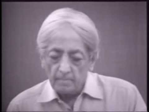 J. Krishnamurti - Saanen 1979 - Public Discussion 3 - Meditation is giving thought its right place