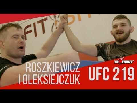 Zapasy rulez! Tak Robert Roszkiewicz i Michał Oleksiejczuk szykowali się na UFC 219