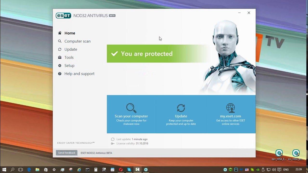 Предварительный обзор Eset Internet Security 10 Beta 2017