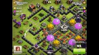 Let's fail at Clash of Clans part 6 - LV3 Inferno defense