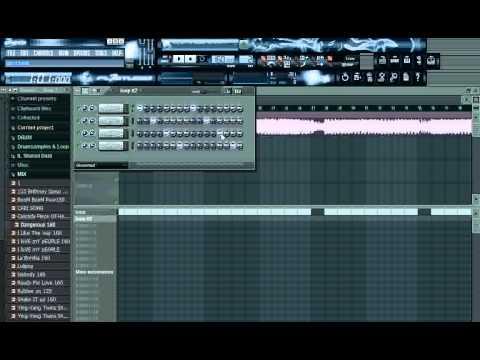 สอนมิกซ์เพลงโปรแกรม FL STUDIO