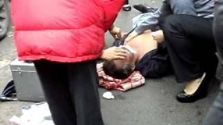 Видео 9 сентября 2011 года авария на пр.Гагарина часть 2