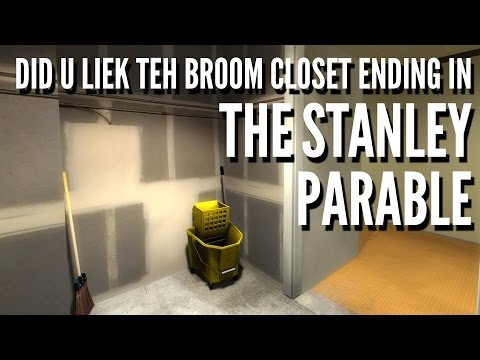 The Stanley Parable (2013) - Coward, Broom Closet, Insane &