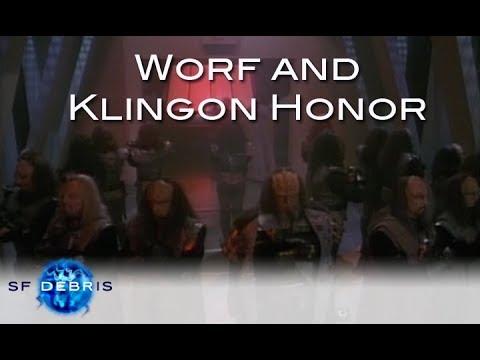 Worf and Klingon Honor