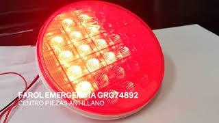 FAROL TRASERO LED SECUENCIAL GRG74892