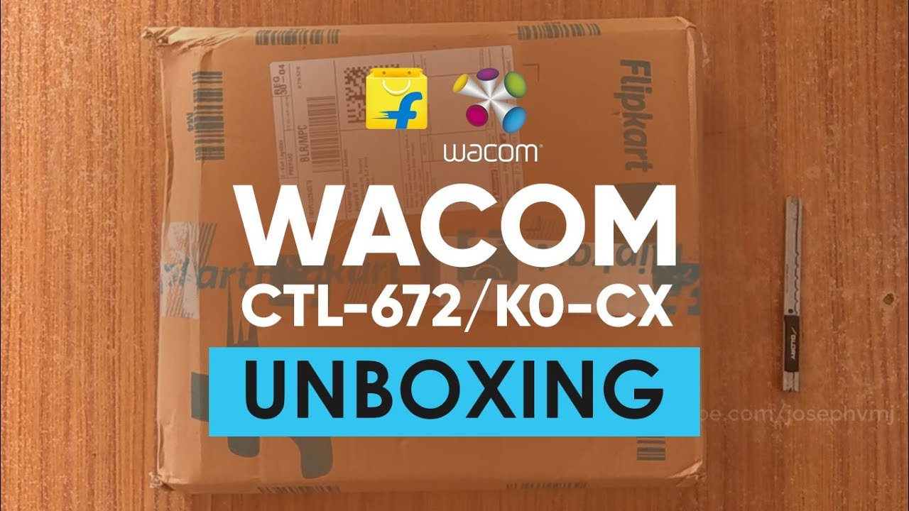 One By Wacom CTL-672/K0-CX   Unboxing