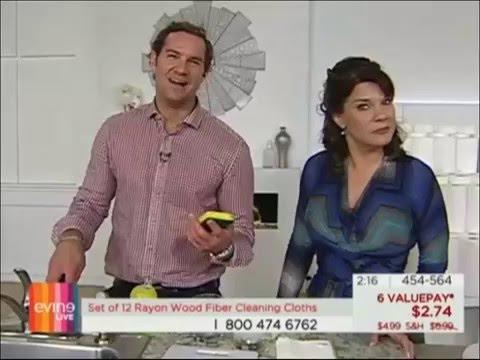 Evine Live Guest Host Douglas Sidney: Simply Natural: Rayon Wood Fiber Towels