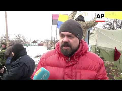 Blockade of Ukraine rebel regions continues