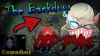 The Backdoor , con PYKE | League of Legends de Lol [GO TO OTP]