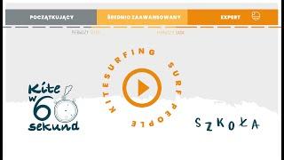 #KITEw60sekund - BUDOWA LATAWCA - Szkoła kitesurfingu i surfingu Surf People | Chałupy 3
