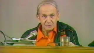 Автор ТРИЗ говорит о будущем теории   Г.С. Альтшуллер на съезде МА ТРИЗ в 1991 году.