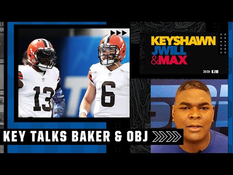 Baker Mayfield is trying to prove he can be a top QB without throwing to OBJ - Keyshawn   KJM