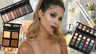 NEW ELF Makeup First impressions Makeup Tutorial | Laura Lee