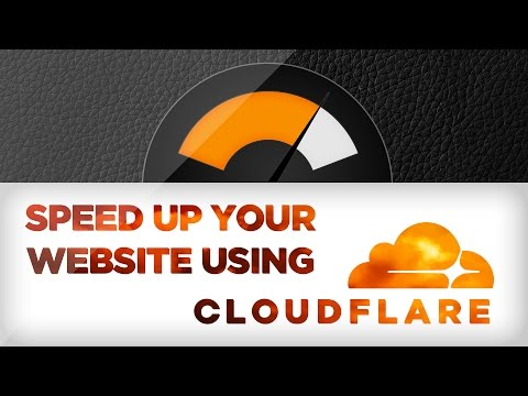 How To Speed Up Your Website Using CloudFlare (Auto Minify HTML/CSS/JS!!)