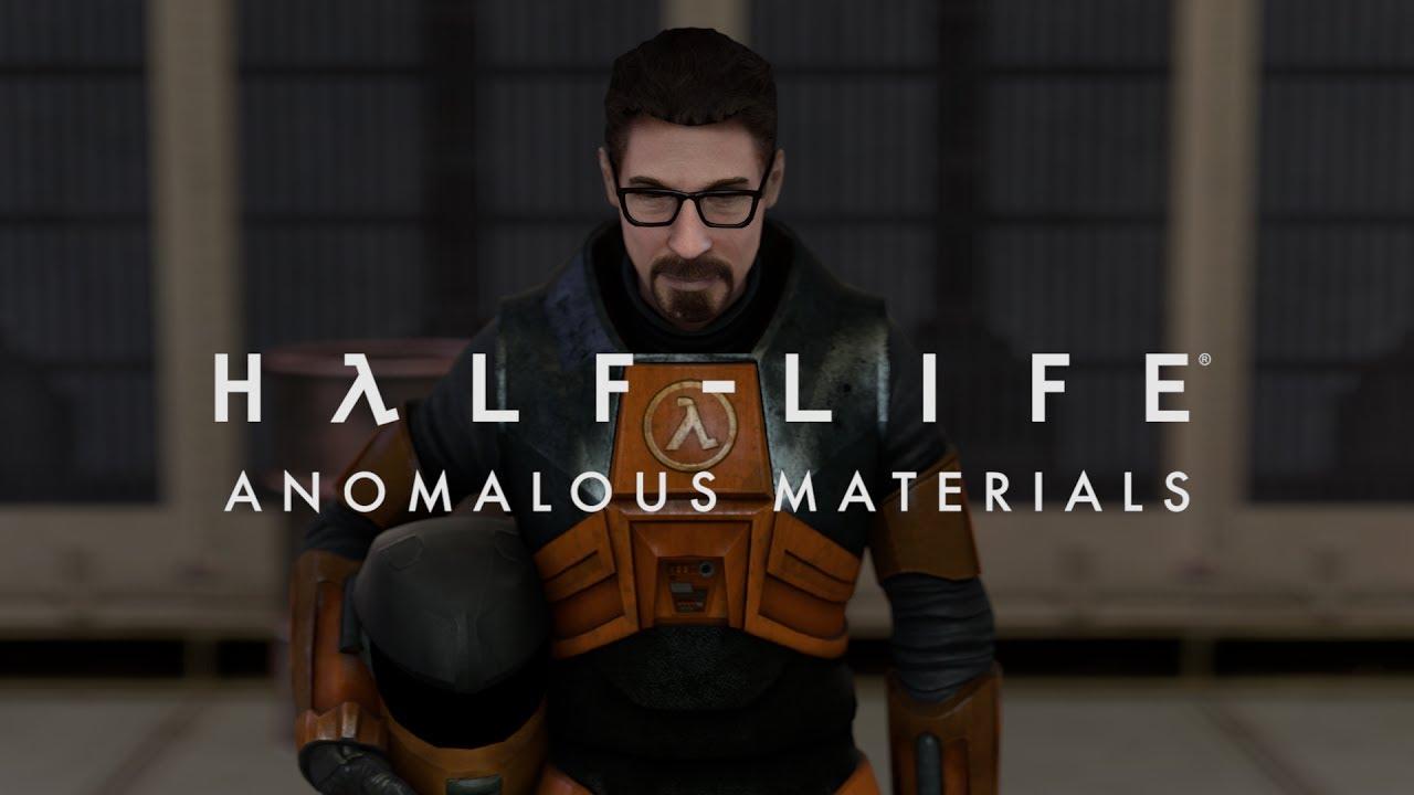 Half Life Anomalous Materials Sfm