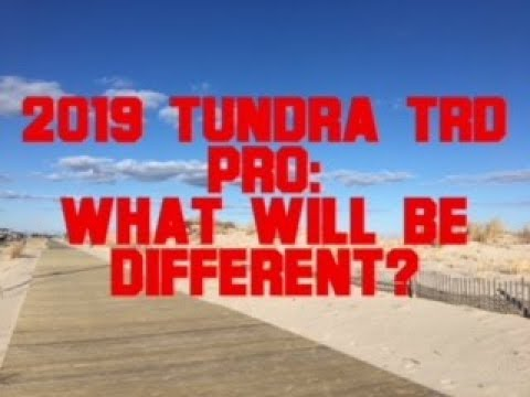 Lets Compare The 2015-17 TRD Pro To The Upcoming 2019 Edition