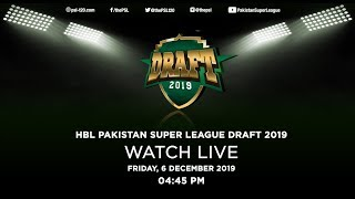 HBL Pakistan Super League Draft 2019 | Promo