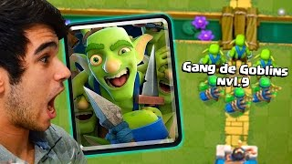 TESTEI A NOVA CARTA GANGUE DE GOBLINS NO CLASH ROYALE