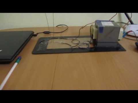 видео: Дуга от трансформатора из микроволновки.