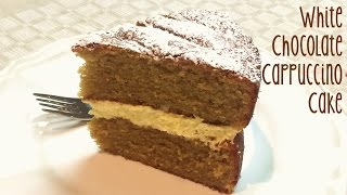 How To Make A White Chocolate Cappucino Cake From Creative Cakes By Sharon