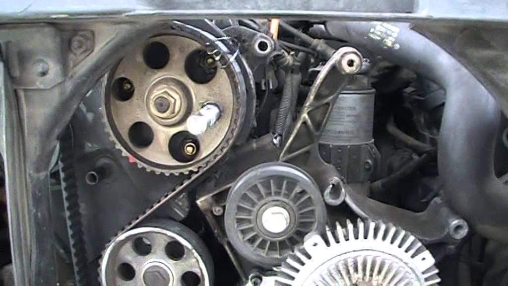 Audi A4 19 Tdi Wymiana Rozrządu Youtube