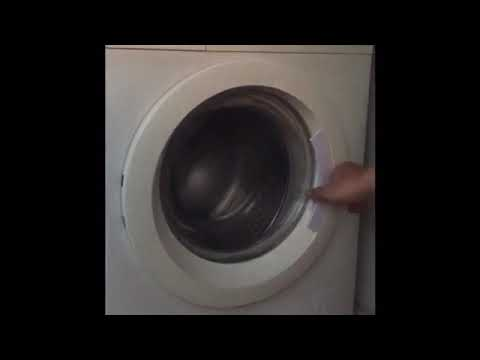 Vài phút với bệnh không mở được cửa của máy giặt Electrolux