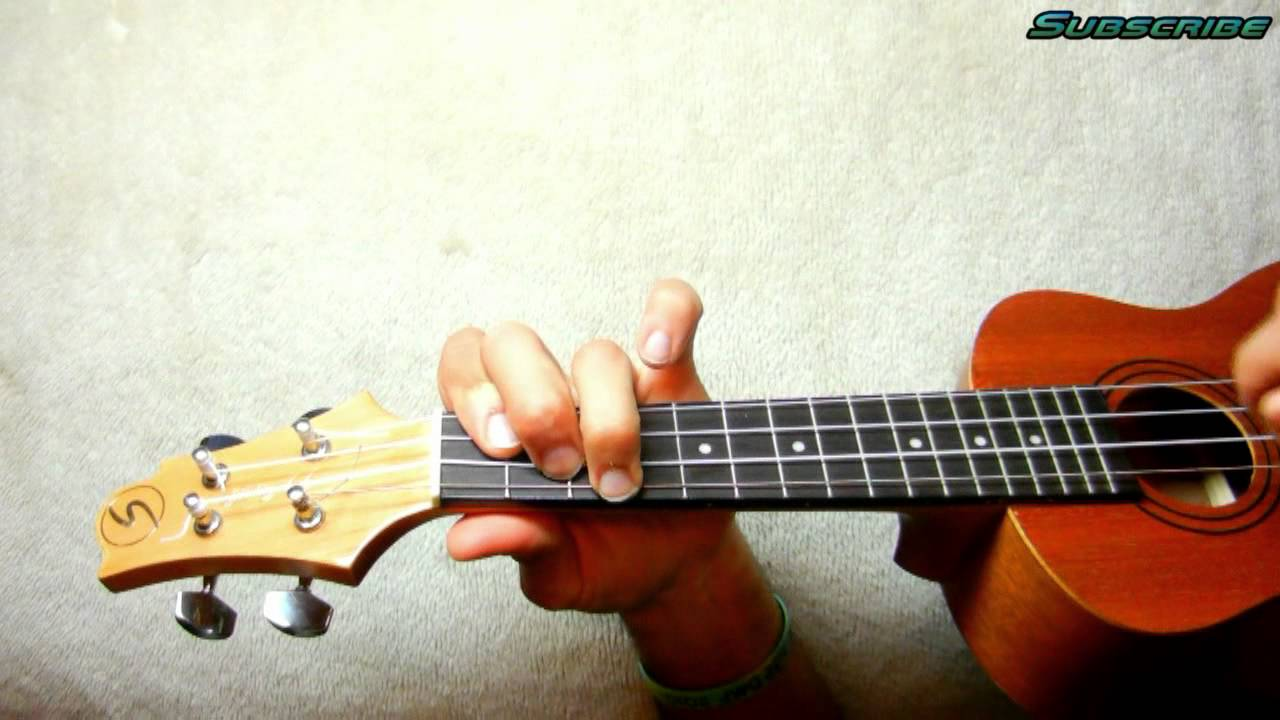 How To Play As Long As You Love Me Justin Beiber Ukulele Tutorial