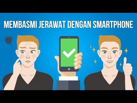 CARA MENGHILANGKAN JERAWAT MENGGUNAKAN SMARTPHONE (100% WORK)