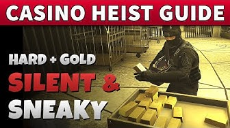 Casino Heist SILENT AND SNEAKY Guide 2 Players | GOLD + Hard Mode + Stealth UNDETECTED (GTA Online)