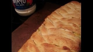 Chicken Broccoli Braid How To